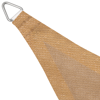 Picture of Sunshade Sail HDPE Triangular 16.4'x16.4'x16.4' Beige