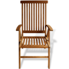 "Picture of Teak 7-Position Garden Chair 23.6""x25.2""x42.5"""