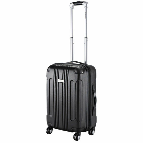 """Picture of Trolley Suitcase Expandable - 20"""""""