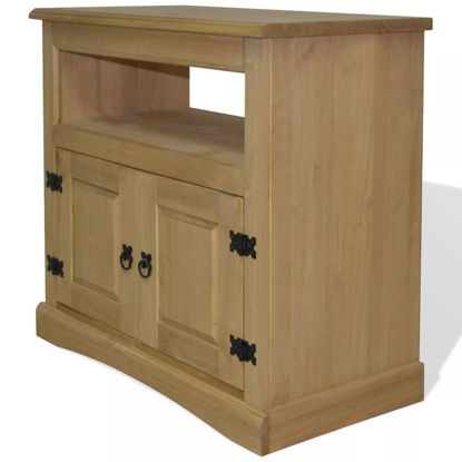 "Picture of TV Cabinet 31"" - Mexican Pine Corona Range"