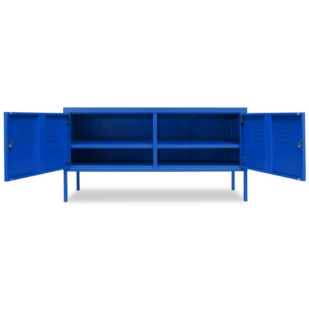 """Picture of TV Cabinet 46"""" - Blue"""