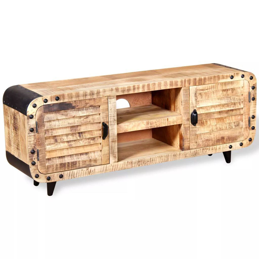 """Picture of TV Cabinet 47"""" - Rough Mango Wood"""