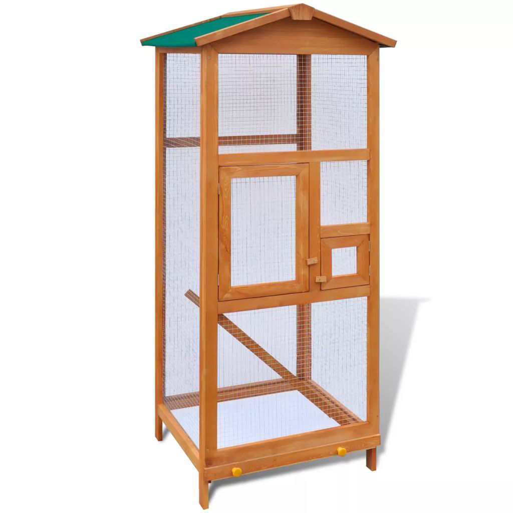 Picture of Wooden Bird Cage