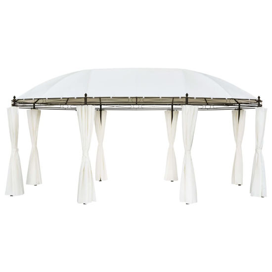 Picture of Outdoor Cream White Gazebo Tent
