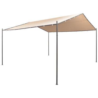 Picture of Outdoor Gazebo Pavilion Tent - Steel Beige