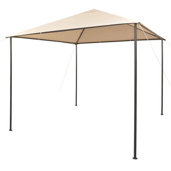 Picture of Outdoor Tent Gazebo - Steel Beige