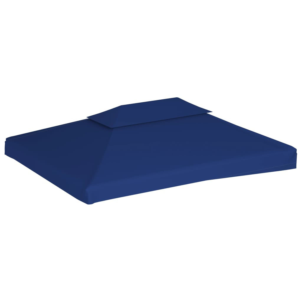 Picture of Outdoor Gazebo Top Cover - 2-Tier Blue