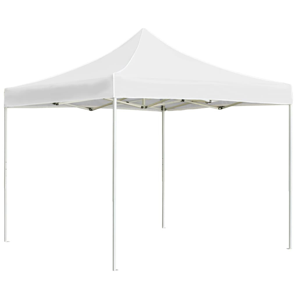 Picture of Outdoor Folding Aluminum Gazebo Tent - White