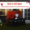 Picture of Outdoor Halloween Inflatable Vampire 6' with LED Lights