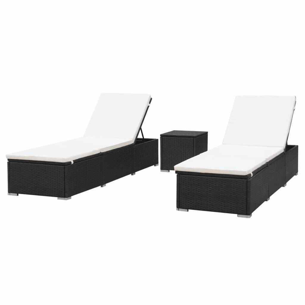 Picture of Outdoor Loungers - Black