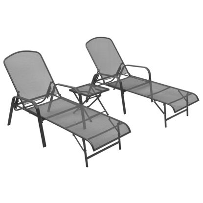 Picture of Outdoor Loungers with Table