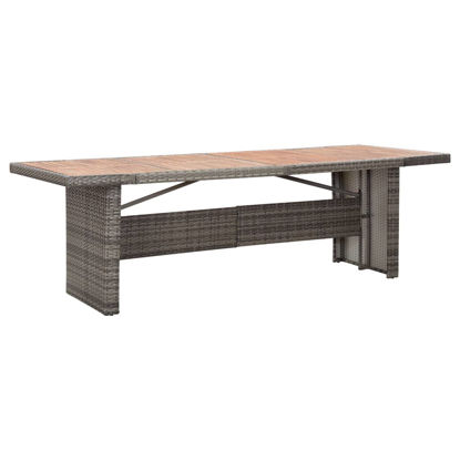 """Picture of Outdoor Dining Table 94"""""""