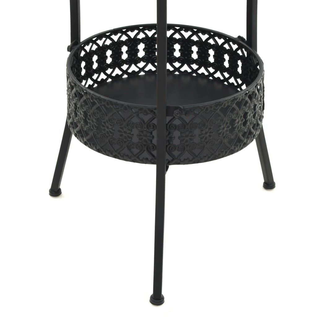 Picture of Outdoor Bistro Table Black 15""