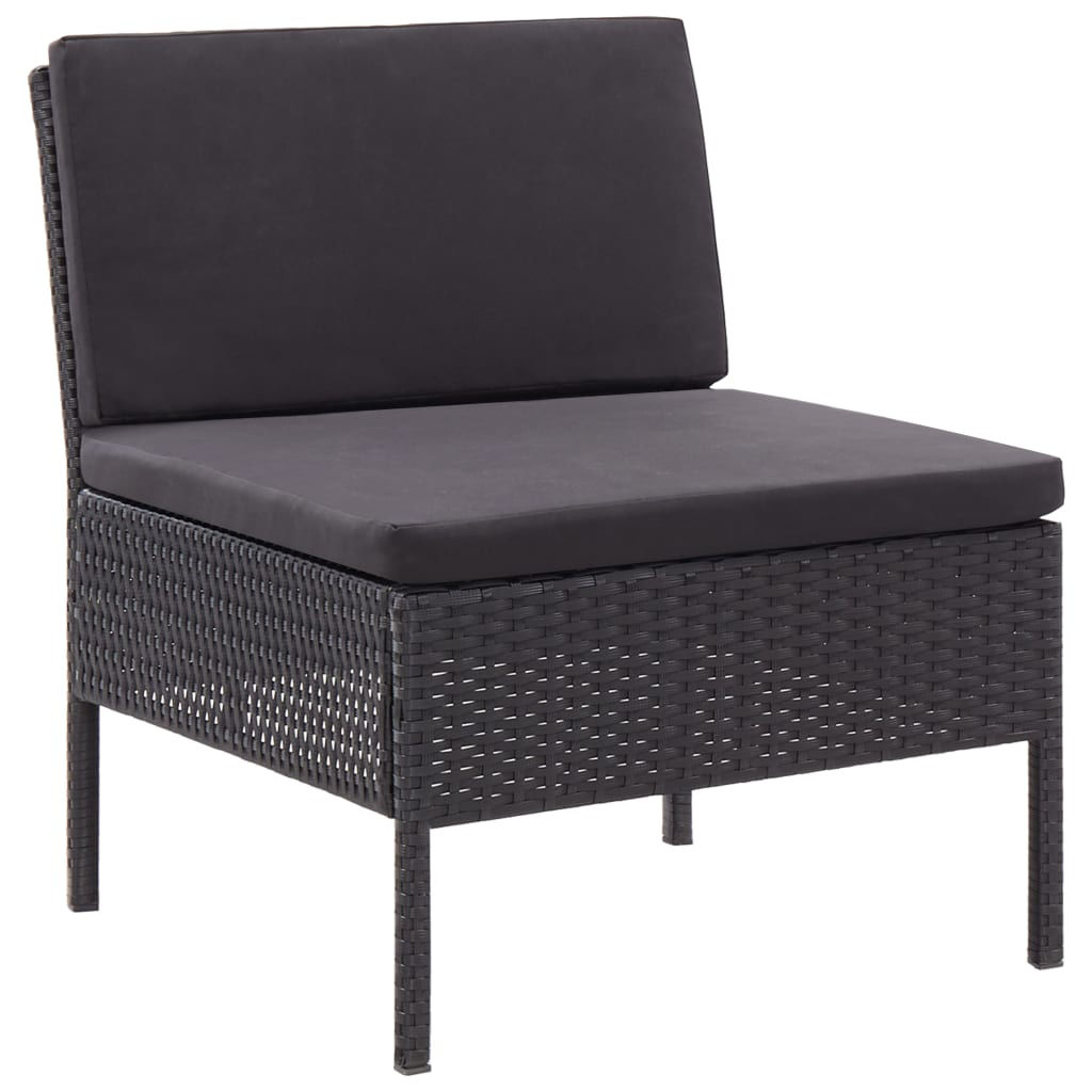 Picture of Outdoor Lounge Set - Black