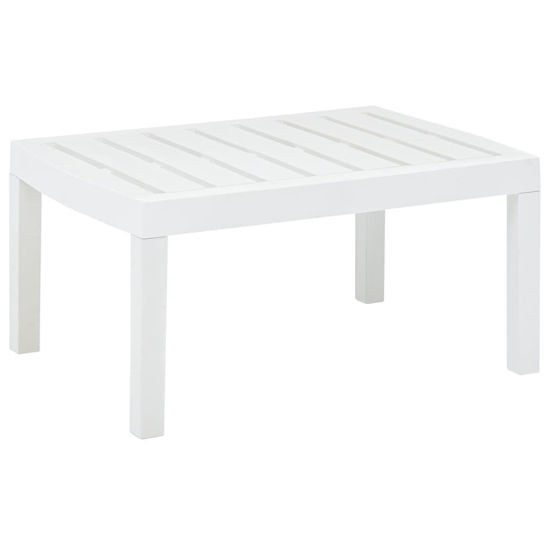 """Picture of Outdoor Lounge Table 30"""" - White"""