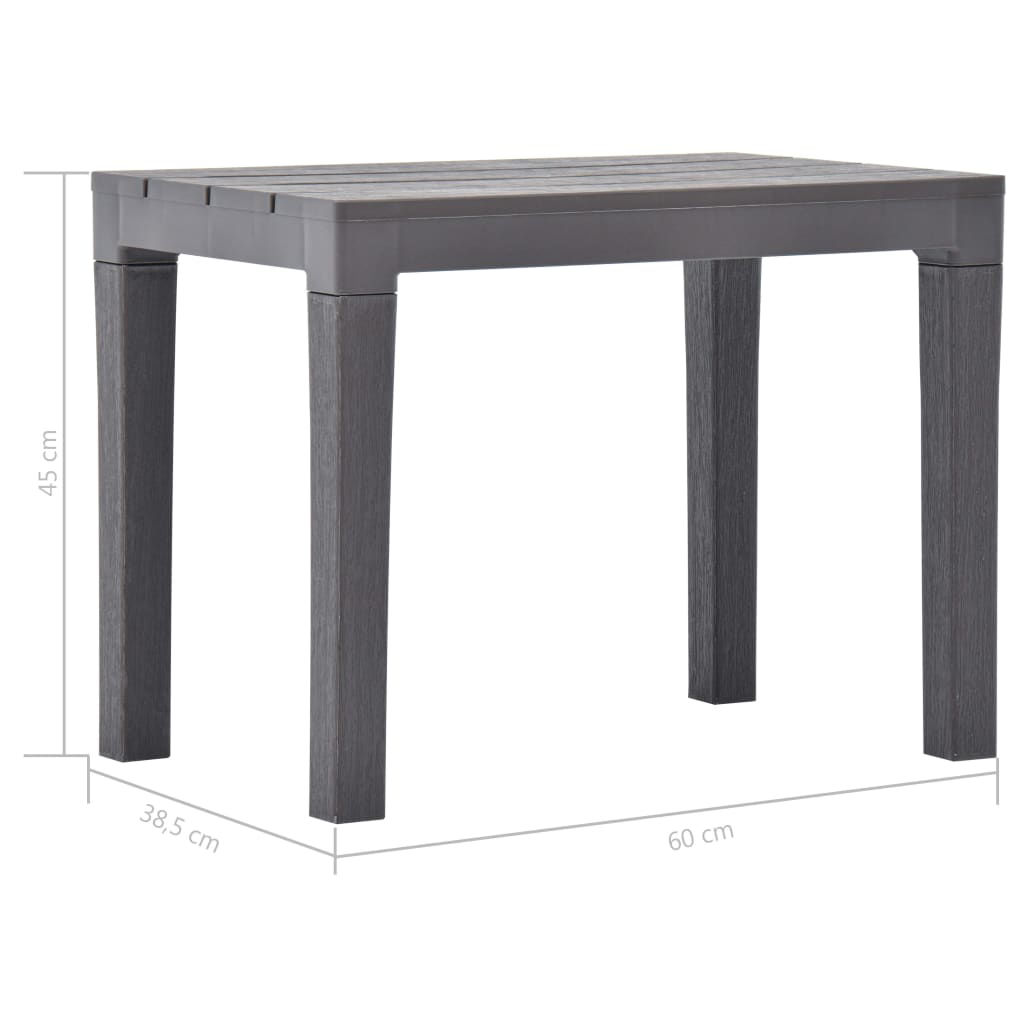 Picture of Outdoor Benches - 2 pcs Mocca