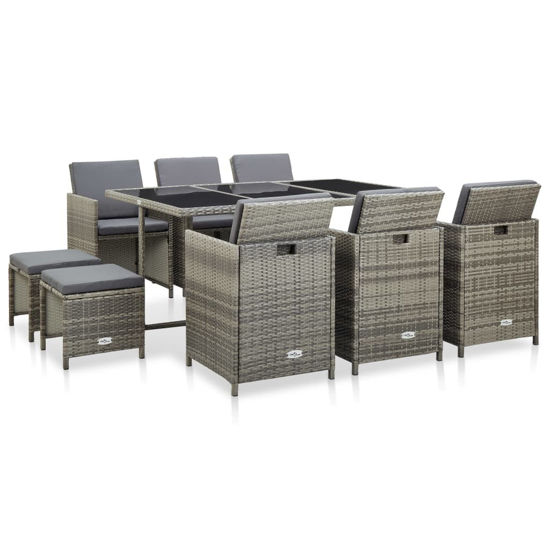 Picture of Outdoor Dining Set - Gray