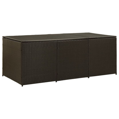 "Picture of Outdoor Storage Box - 70"" Brown"