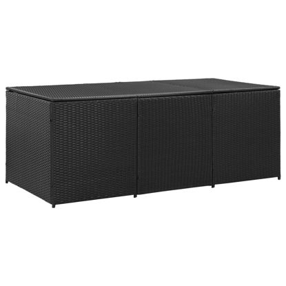 "Picture of Outdoor Storage Box - 70"" Black"