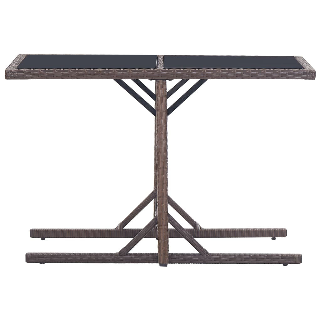 Picture of Outdoor Patio Table - Brown 43""