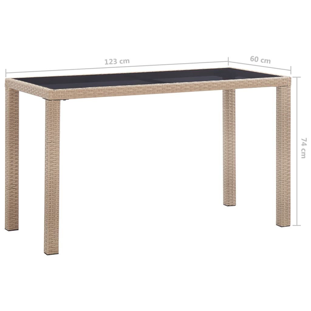 """Picture of Outdoor Patio Table - 48"""" Gray"""