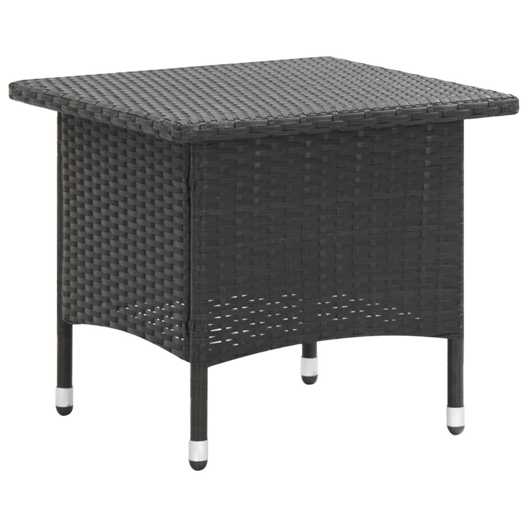 """Picture of Outdoor Tea Table 19"""" Black"""