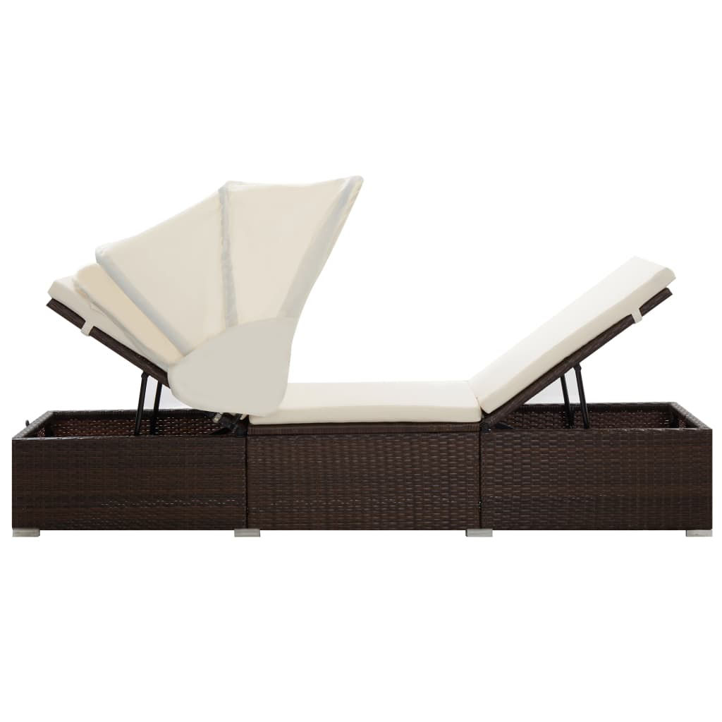 Picture of Outdoor Lounger - Brown