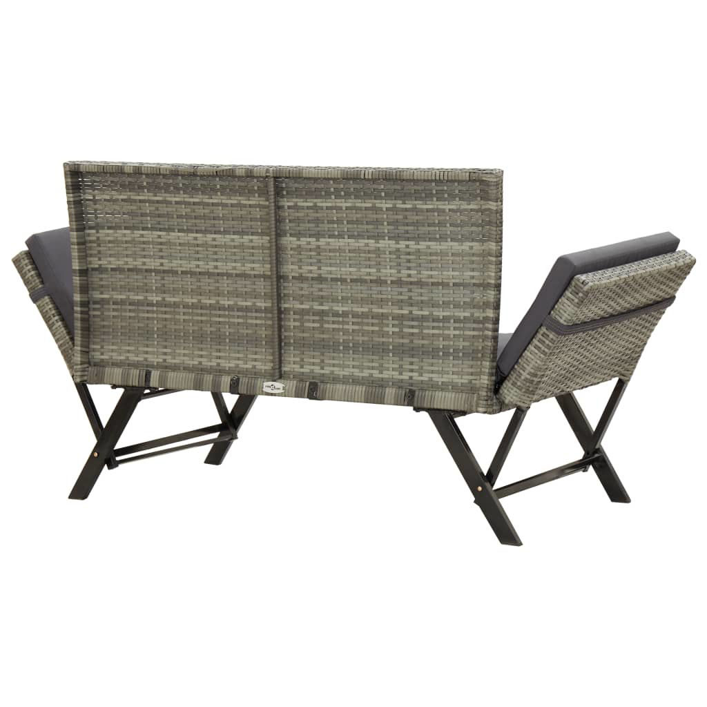 "Picture of Outdoor Bench 69"" - Gray"