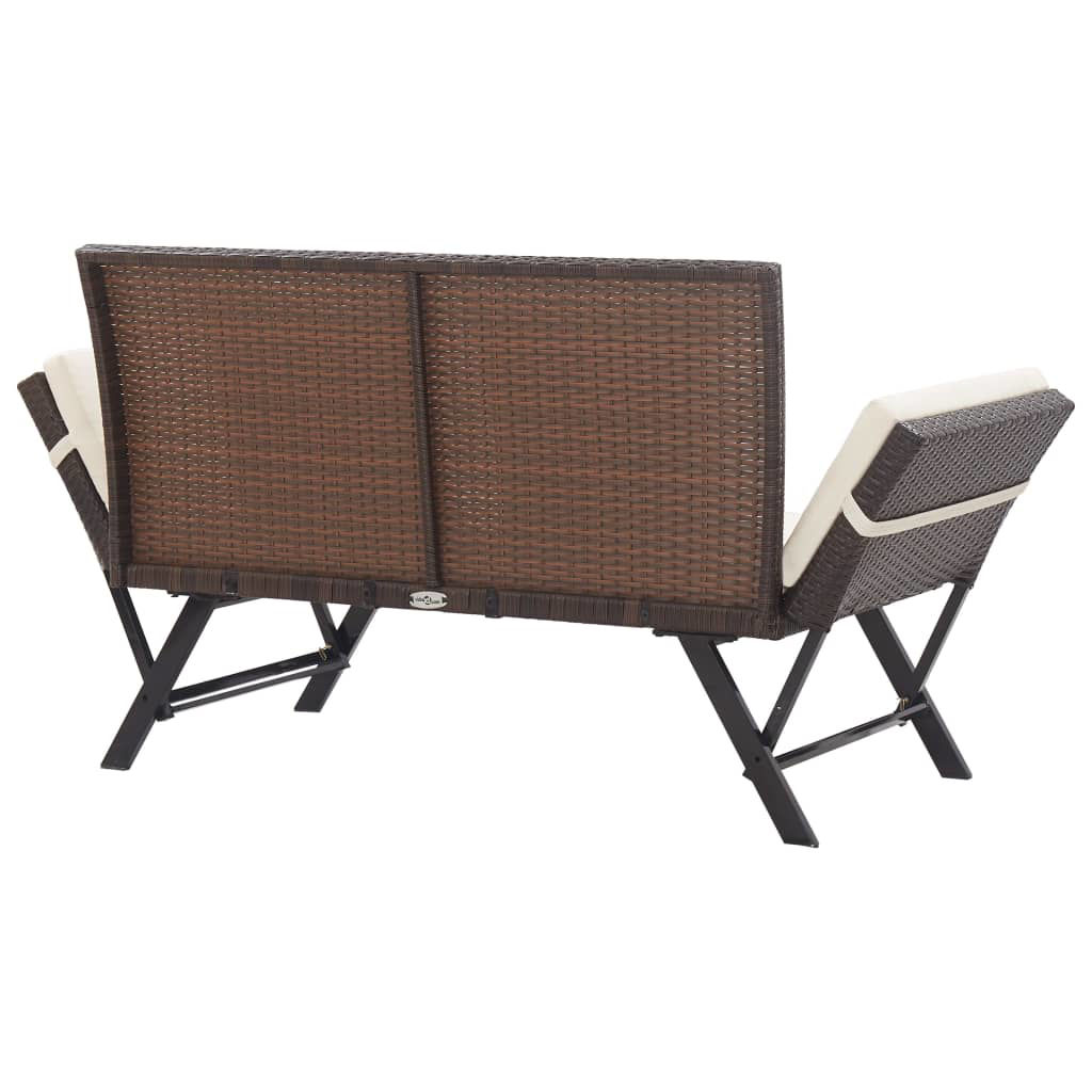 "Picture of Outdoor Bench 69"" - Brown"