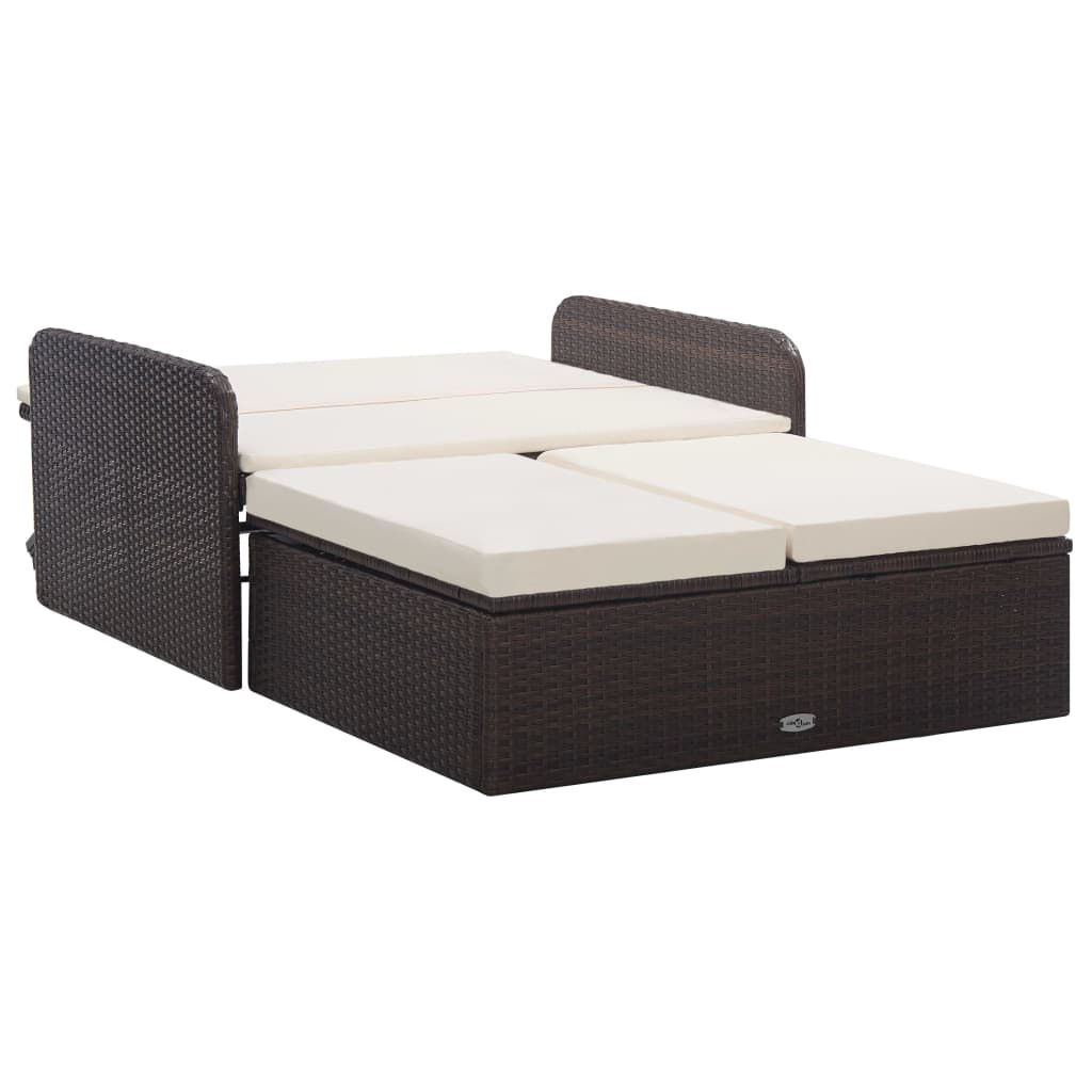 Picture of Outdoor SunBed Set - Brown