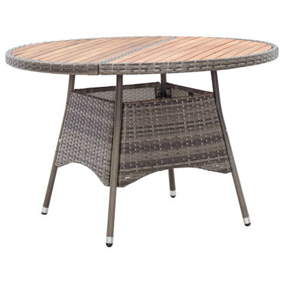 "Picture of Outdoor Table - 45"" Gray"