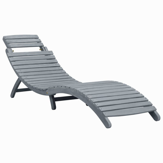 Picture of Outdoor Sun Lounger - Gray