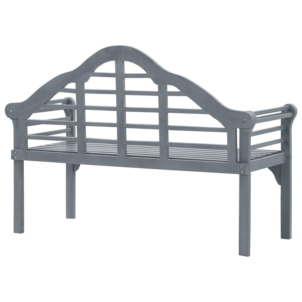 """Picture of Outdoor Bench 53"""" Gray"""