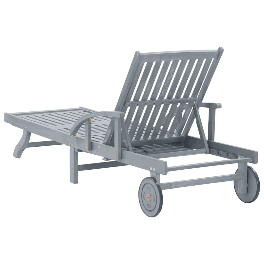 Picture of Outdoor Lounger - Gray
