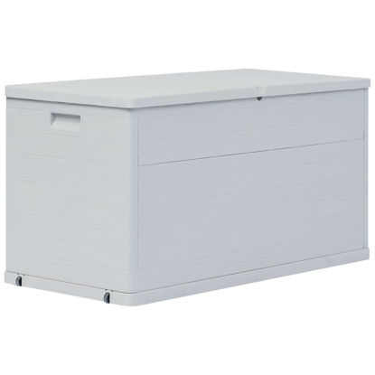 Picture of Outdoor Garden Storage Box 111 gal - Light Gray