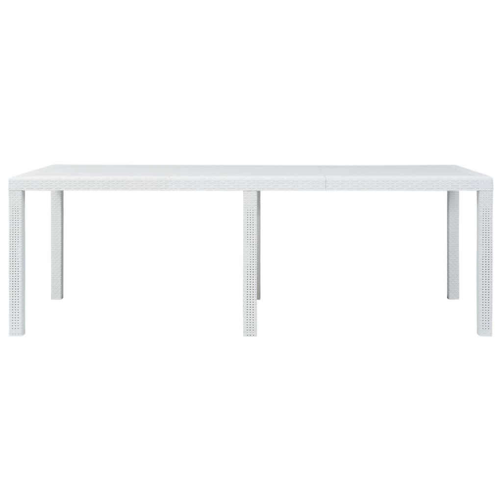 """Picture of Outdoor Plastic Table 86"""" - White"""