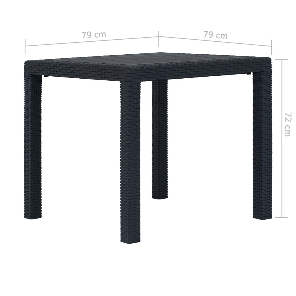 """Picture of Outdoor Plastic Table 31"""""""