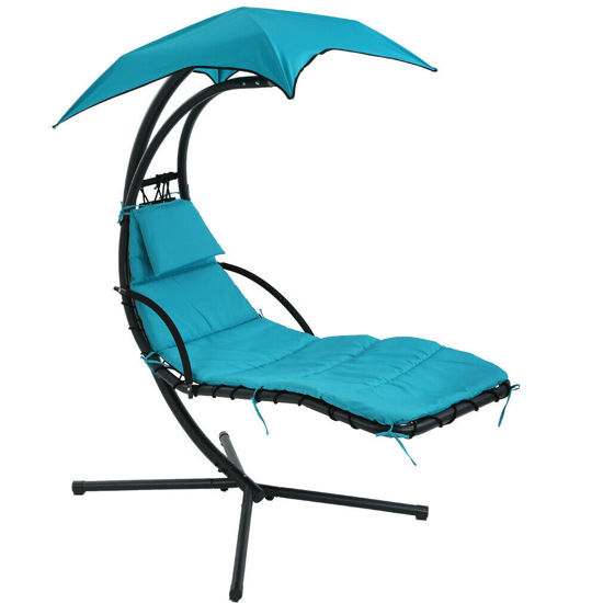 Picture of Outdoor Lounger Swing - Blue