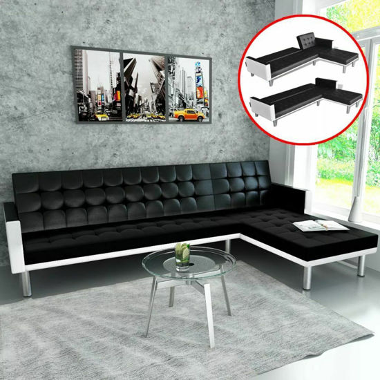 Picture of Living Room L-Shaped Sofa