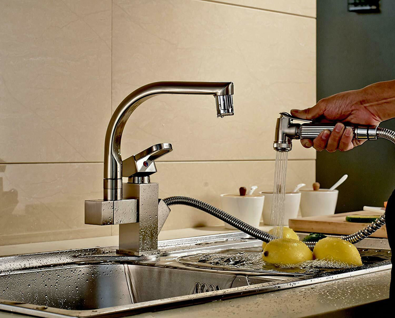 Picture of Kitchen Pull Out Faucet with LED
