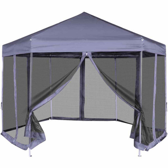 Picture of Outdoor Pop Up Tent with Walls - Blue
