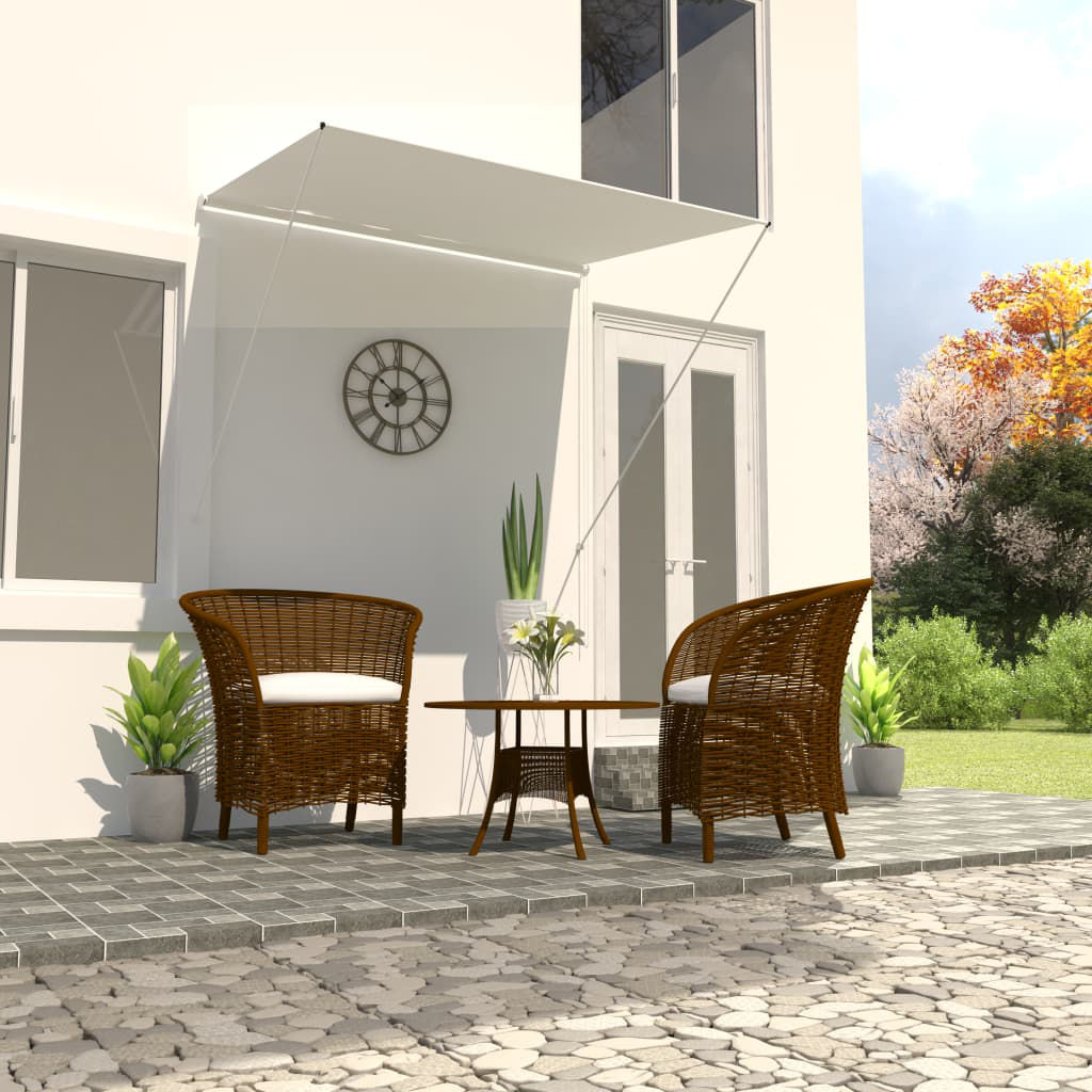 """Picture of Outdoor Awning 59"""" - Cream"""