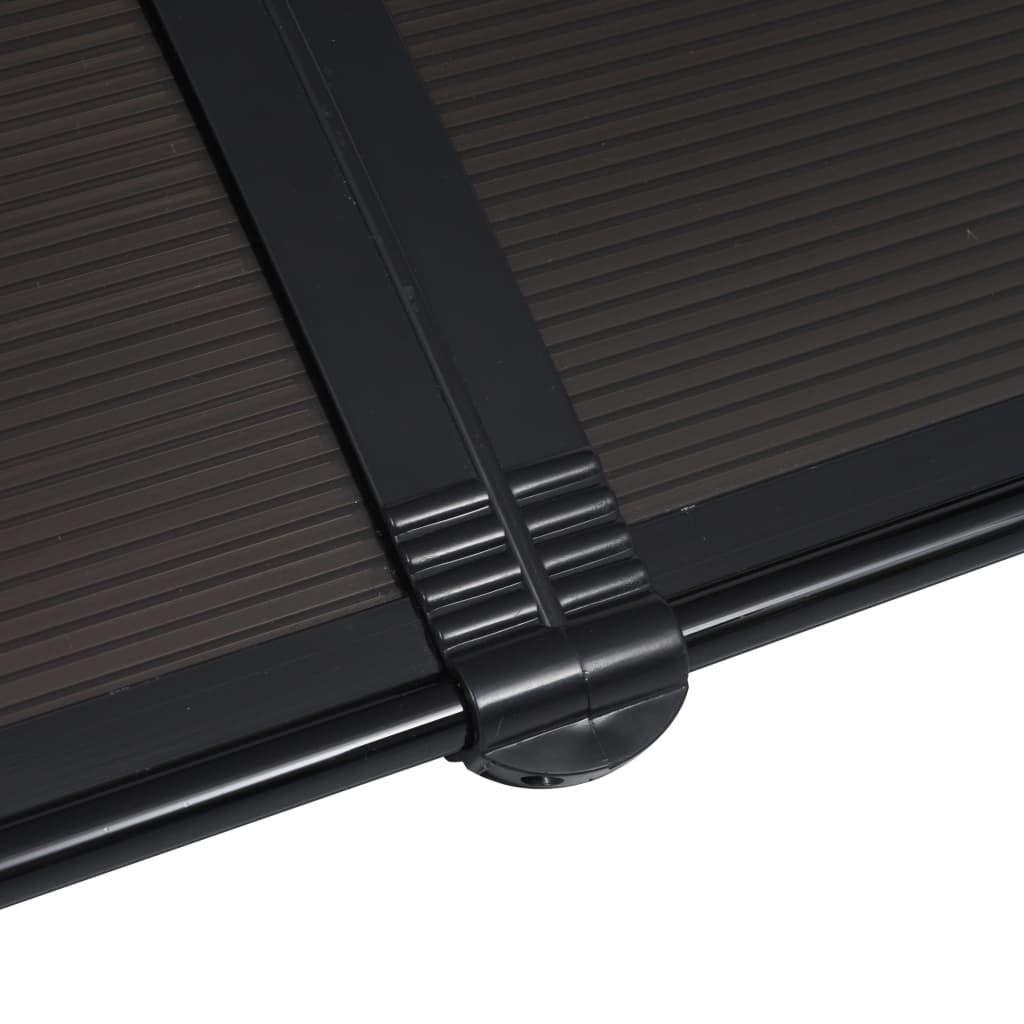 """Picture of Outdoor Door Canopy 94"""" - Black"""