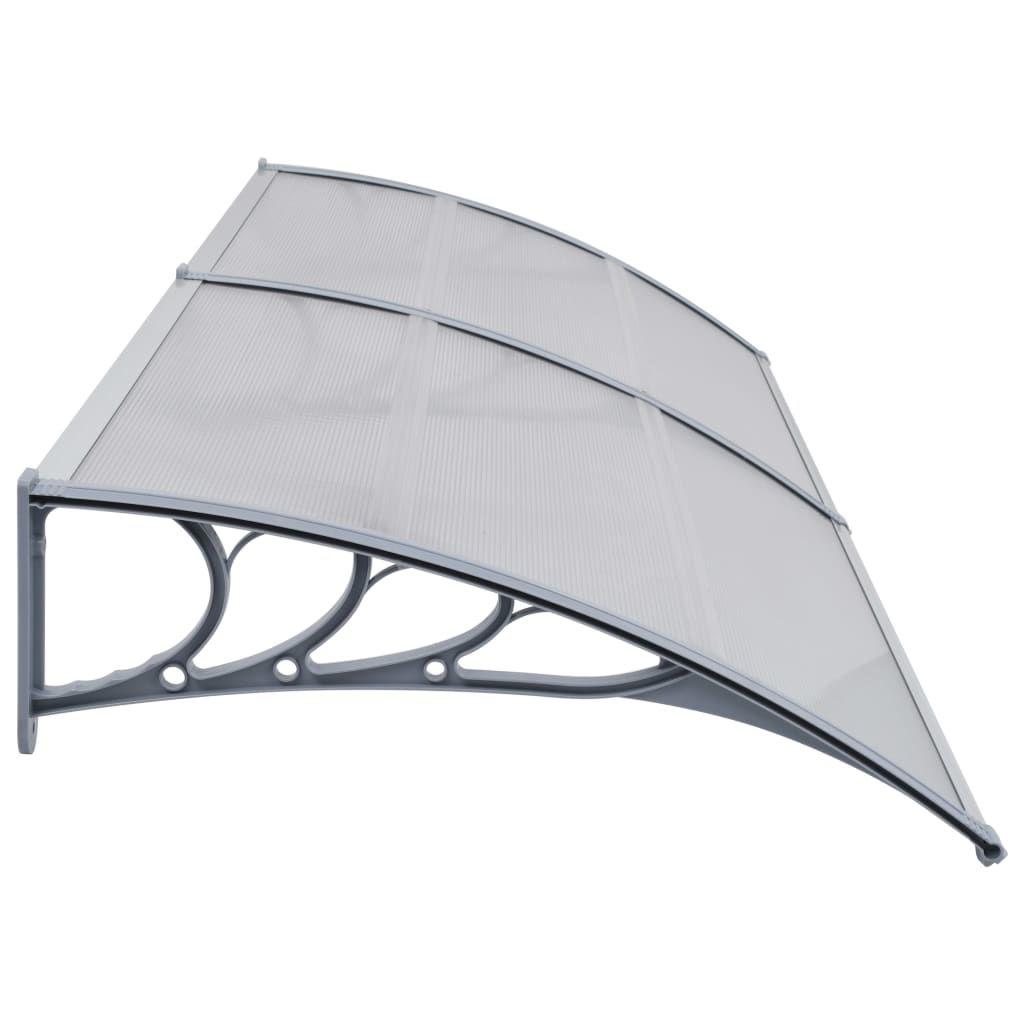 """Picture of Outdoor Door Canopy 118"""" - Gray"""