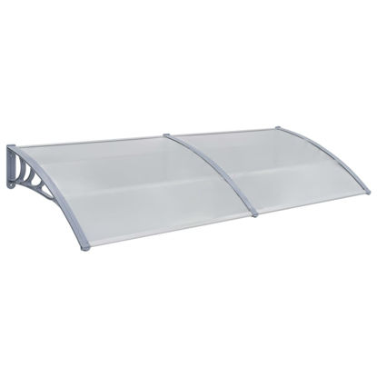 """Picture of Outdoor Door Canopy 94"""" - Gray"""