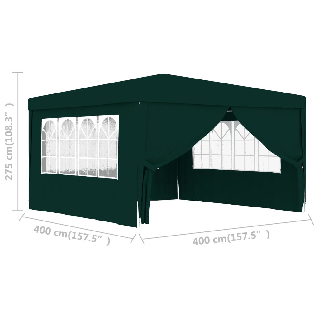 Picture of Outdoor Tent with Walls 13' x 13' - Green