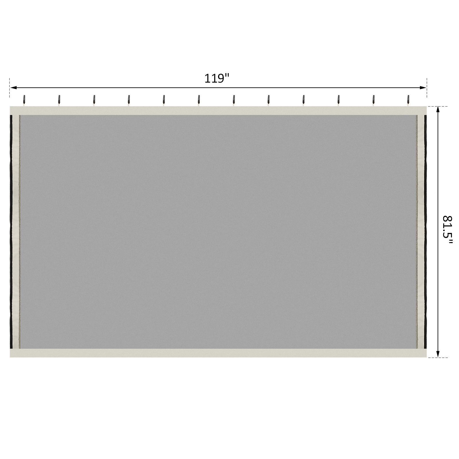 Picture of Outdoor Replacement Mesh Mosquito Netting for 10' x 10' Tent