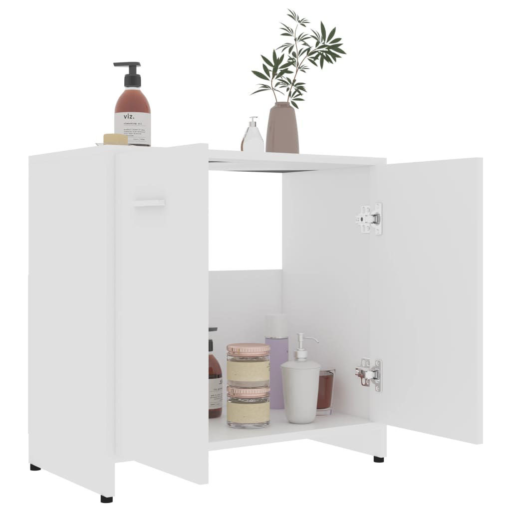 Picture of Bathroom Cabinet - White