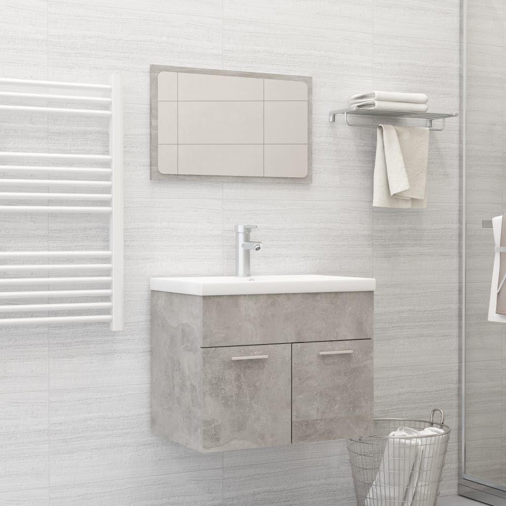 "Picture of 23"" Bathroom Furniture Set - Concrete Gray"