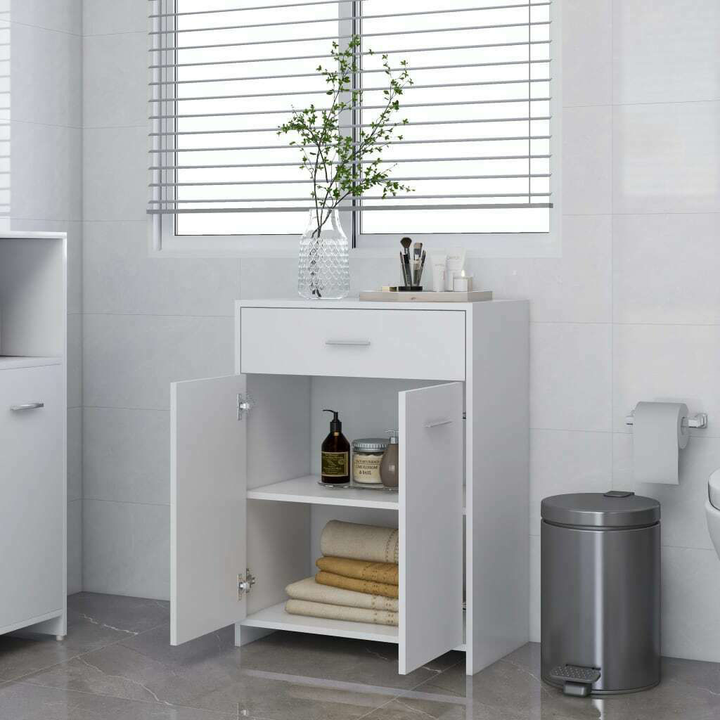 """Picture of 23"""" Bathroom Cabinet - White"""